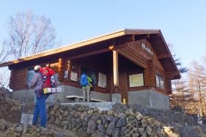 雲取山避難小屋の画像