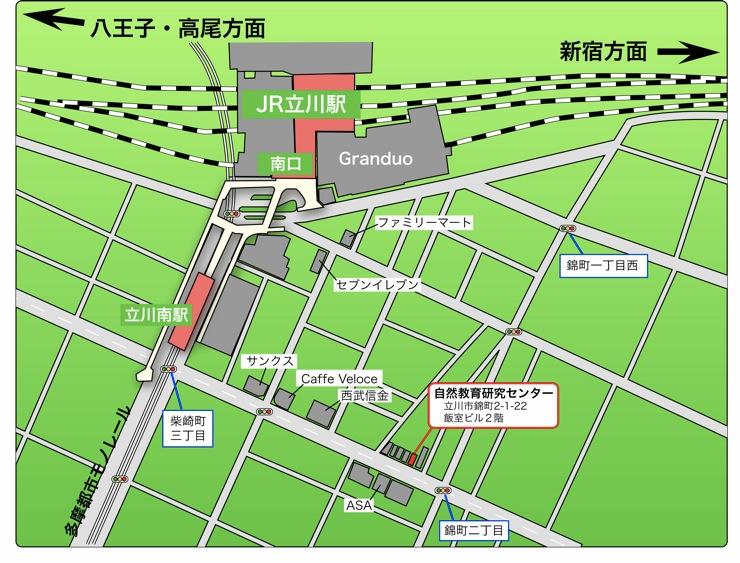 CESアクセスマップ